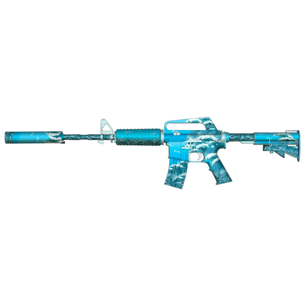 M4A1-S - Blue Waves