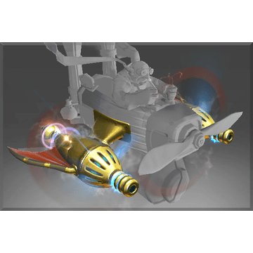 Golden Atomic Ray Thrusters