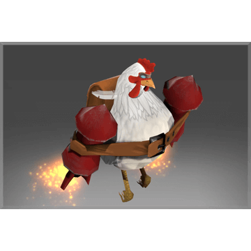 Unusual Cluckles the Brave