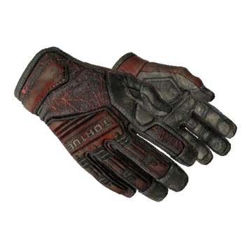 ★ Specialist Gloves - Crimson Web