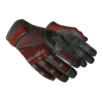 ★ Specialist Gloves - Crimson Web
