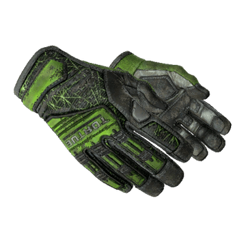 ★ Specialist Gloves - Emerald Web