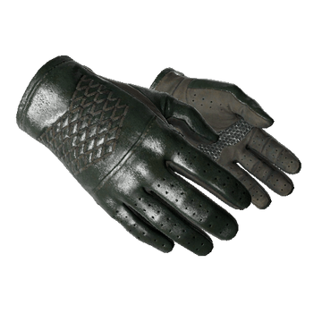 ★ Driver Gloves - Racing Green