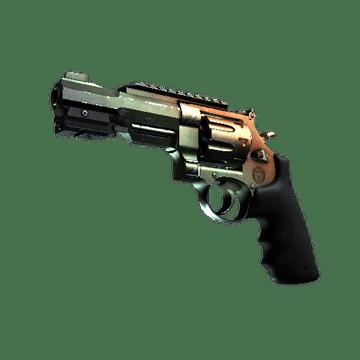 R8 Revolver - Amber Fade