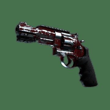 R8 Revolver - Crimson Web
