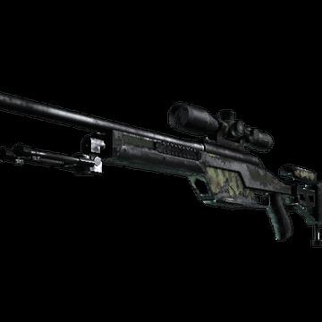 SSG 08 | Lichen Dashed