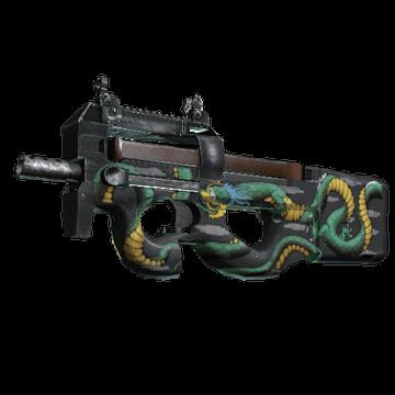P90 - Emerald Dragon