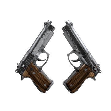 Dual Berettas | Black Limba