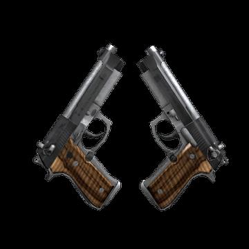 Dual Berettas - Black Limba