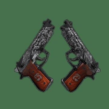 Dual Berettas - Dualing Dragons