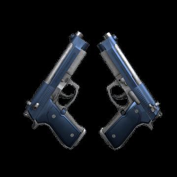 Dual Berettas - Anodized Navy