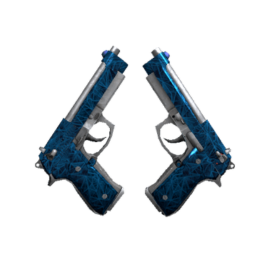 Dual Berettas - Cobalt Quartz