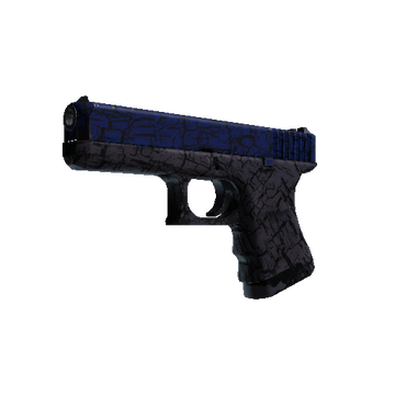 Glock-18 - Blue Fissure