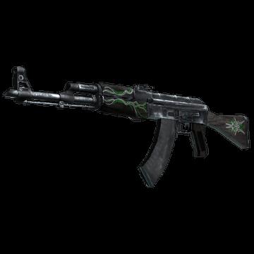AK-47 - Emerald Pinstripe