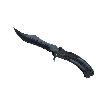 ★ Butterfly Knife - Blue Steel