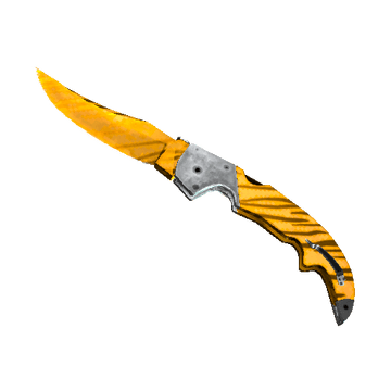 ★ Falchion Knife - Tiger Tooth
