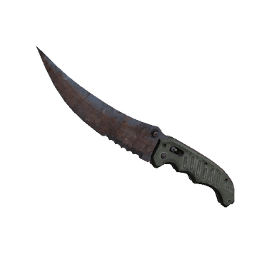 ★ Flip Knife - Rust Coat