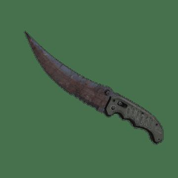 ★ Flip Knife - Rust Coat