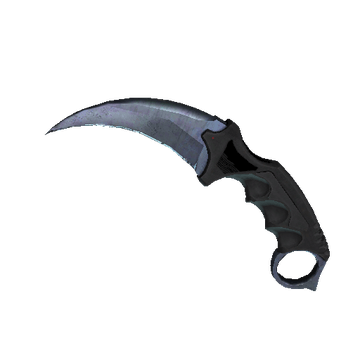 ★ Karambit - Blue Steel