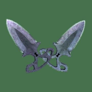 ★ Shadow Daggers | Blue Steel