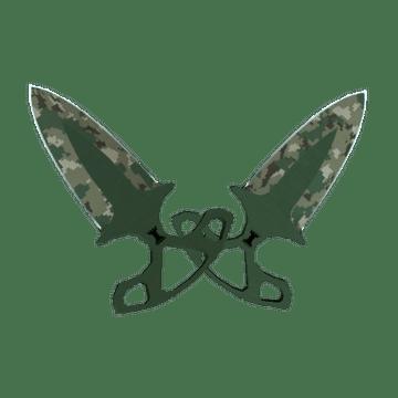 ★ Shadow Daggers   Forest DDPAT