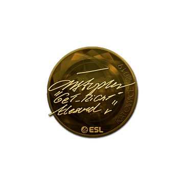 Sticker | GeT_RiGhT (Gold) | Katowice 2019