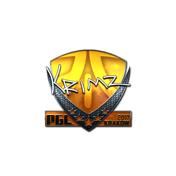 Sticker   KRIMZ (Foil)   Krakow 2017