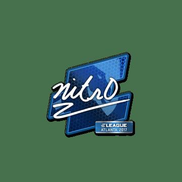 Sticker | nitr0 | Atlanta 2017