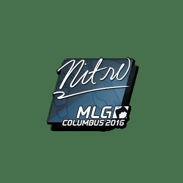 Sticker | nitr0 | MLG Columbus 2016