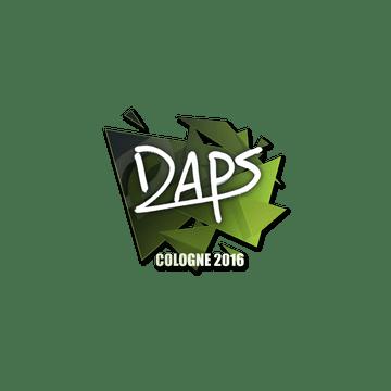 Sticker   daps   Cologne 2016