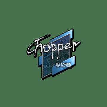 Sticker   chopper   Boston 2018