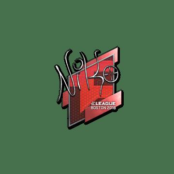Sticker | NiKo | Boston 2018