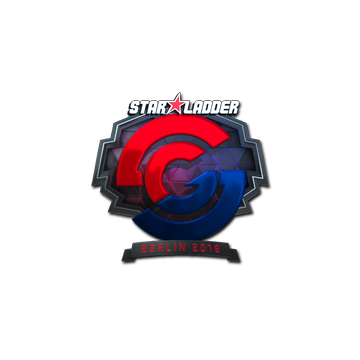 Sticker | Syman Gaming (Foil) | Berlin 2019