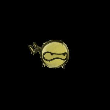 Sealed Graffiti   Ninja (Tracer Yellow)