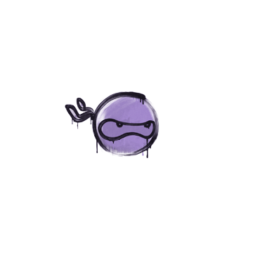 Sealed Graffiti   Ninja (Violent Violet)