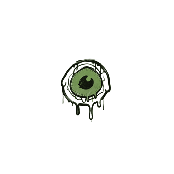 Sealed Graffiti   Eye Spy (Battle Green)