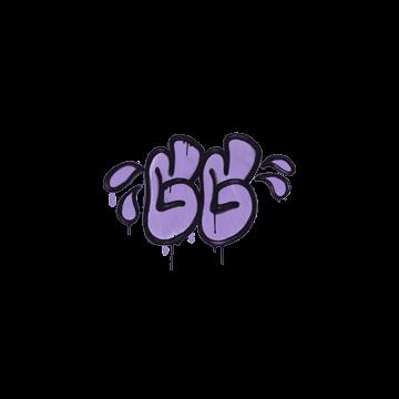 Sealed Graffiti   GGWP (Violent Violet)