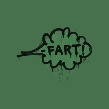 Sealed Graffiti   Fart (Jungle Green)