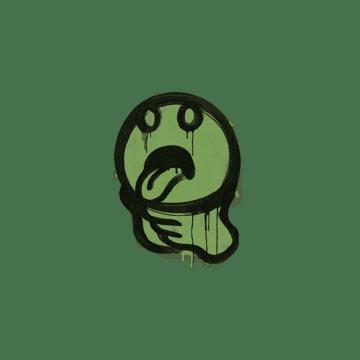 Sealed Graffiti | Choke (Battle Green)