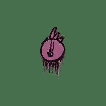 Sealed Graffiti | Bock Bock (Princess Pink)